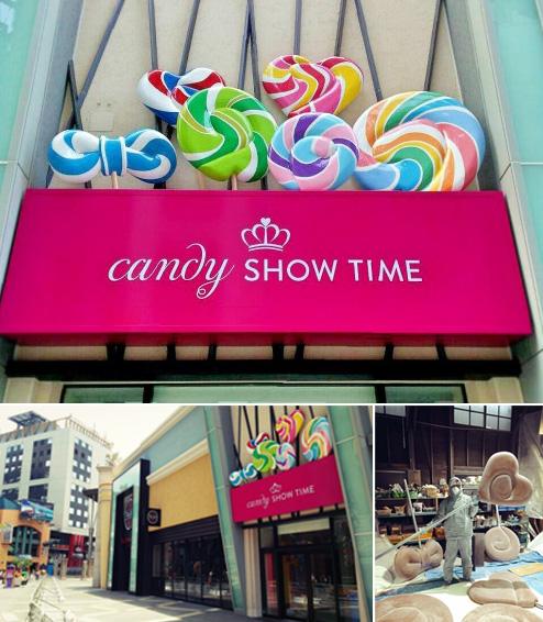 キャンディー・ショータイム|立体看板|