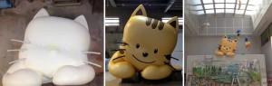ネコ|立体造形|大阪の造形屋 atelier Loji(アトリエ ロジ)