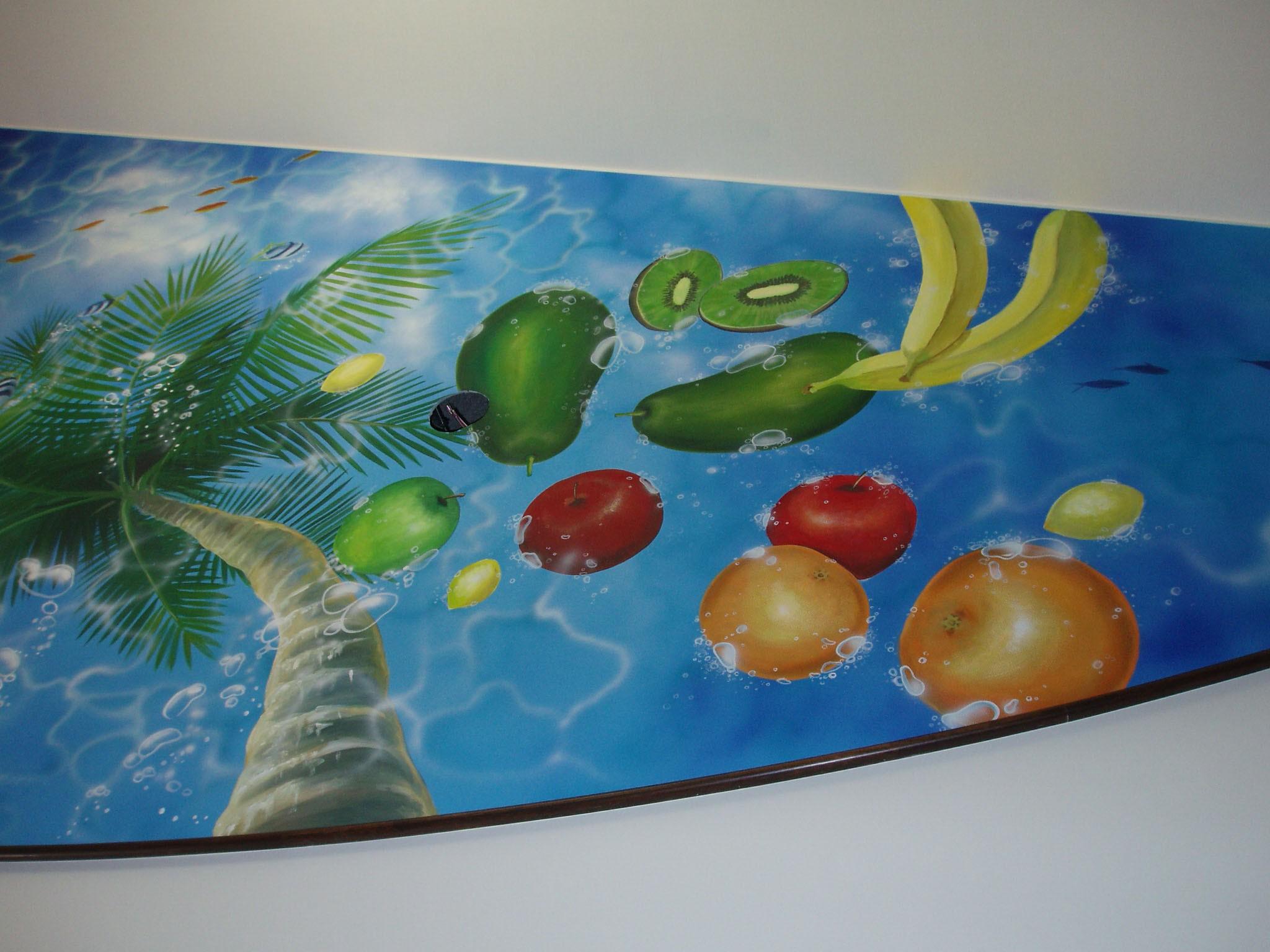 天井画|フルーツ|果実