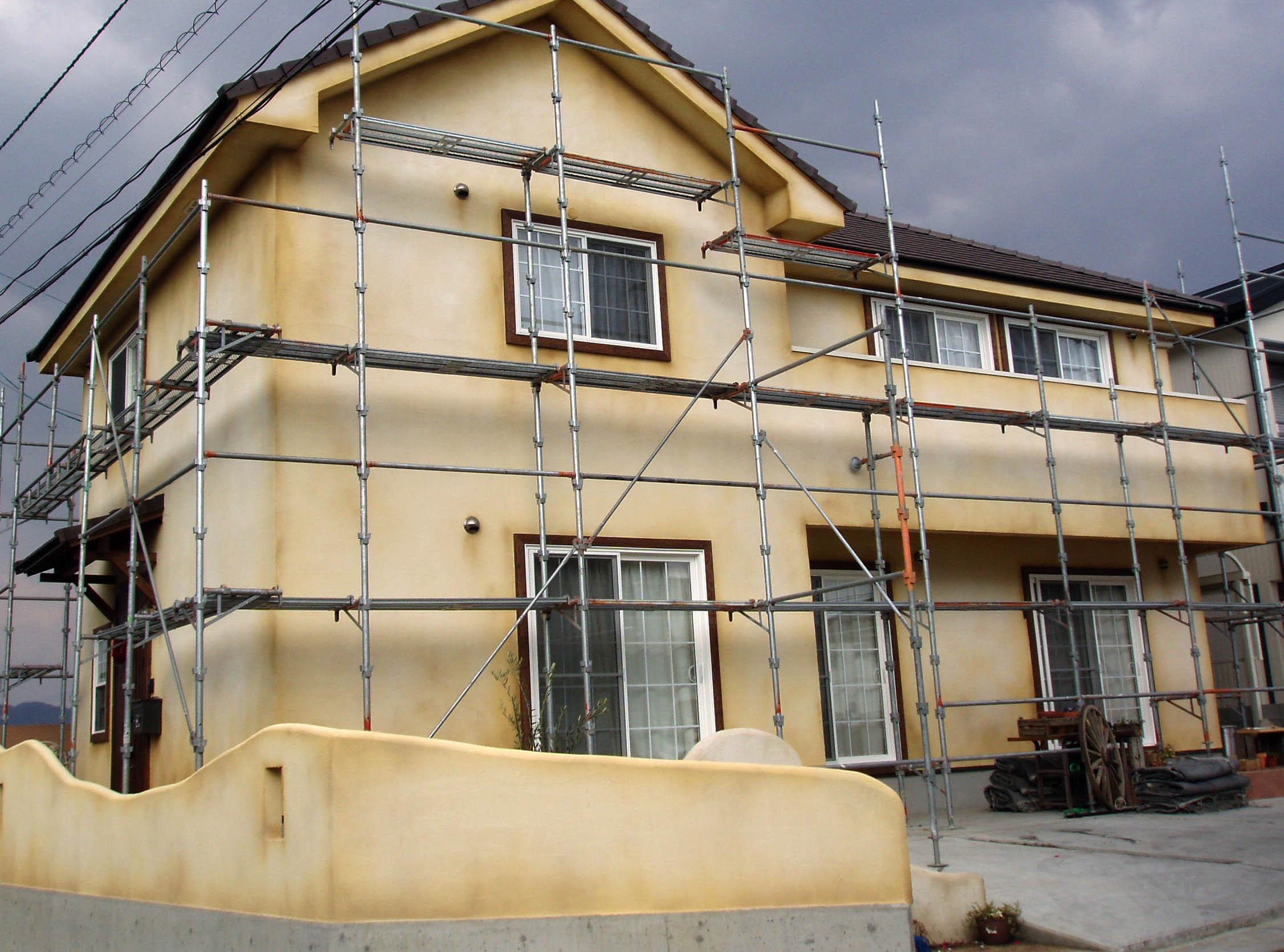 一般住宅 エイジング塗装