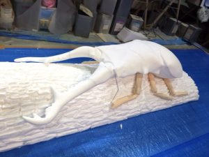 ギラファノコギリクワガタ|Prosopocoilus giraffa|FRP造形|立体造形|大阪の造形屋 atelier Loji(アトリエ・ロジ)